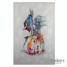 The Cello - Wall Art on Canvas