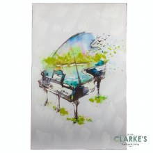 The Piano - Wall art on Canvas