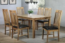 Nappa Dining Set. Table and 6 Chairs