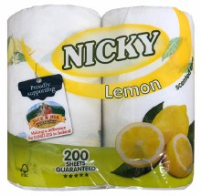 Nickey Kitchen Roll 2pk