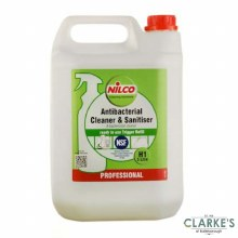 Nilco Antibacterial Cleaner and Sanitiser 5 Litre