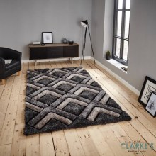 Noble House NH81199 Grey Rug