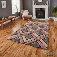 Noble House NH8199 Rose Rug