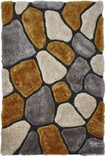 Noble House Rug NH5858 Grey / Yellow Rug 120 x 170cm