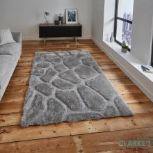 Noble House Rug NH5858 Silver Rug 120 x 170cm
