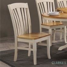 Normandy crem dining chair