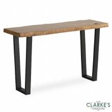 Oak Mill console table