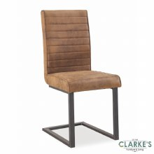 Oak Mill brown dining chair