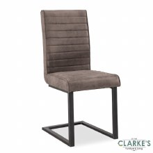 Oak Mill grey dining chair