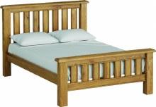 Odyssey Oak 4ft6 bed frame