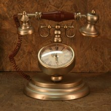 Old Time Clock Phone
