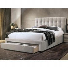Olivia 4ft6 Double Bed Frame with Drawer
