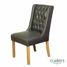 Olivia grey dining chair