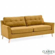 Olten 3 Seater Sofa Citrus