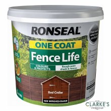 Ronseal One Coat Fence Life Red Cedar 5L