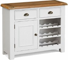 Odyssey Painted Wine Cabinet