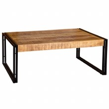 Orleans Industrial Style Solid Wood Coffee Table