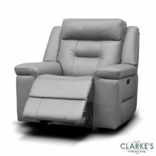 Osbourne full leather 1 seater recliner
