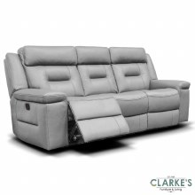 Osbourne leather recliner sofa