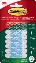 Command 3M Outdoor Decorating Clips