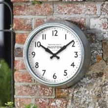 Padstow 15in Garden Wall Clock