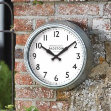 Padstow 15in Garden Wall Clock