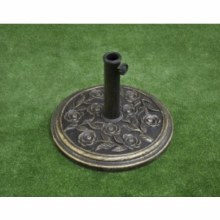 Pagoda Bronze Effect Parasol Base 9 Kg