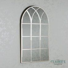 Palladian Window Mirror Soft Champagne 122cm