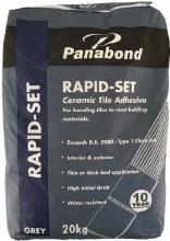 Panabond Rapid Set Tile Adhesive 20kg