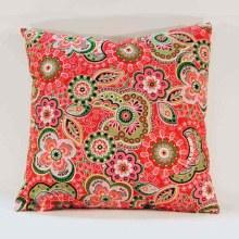 Petal Pop Coral Cushion