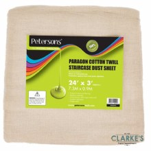 Petersons Paragon Cotton Twill Staircase Dust Sheet