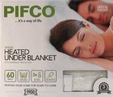 Single Heated Under Blanket