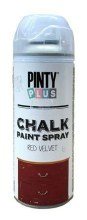 Chalk Spray Paint Red Velvet