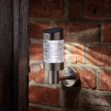 Solar Wave Wall Light with Movement Sensor