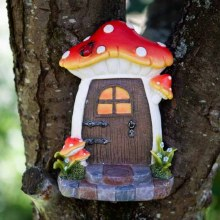 Pixi Portal Magic Fairy Door Red