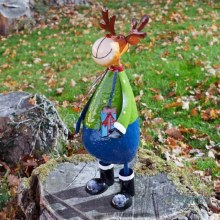 Polka Rudolph XL Christmas Figure 60Cm
