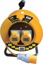 Power 110V Cable Reel 25m