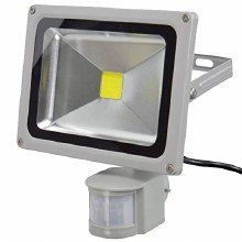 Power 20W LED Floodlight with PIR Sensor