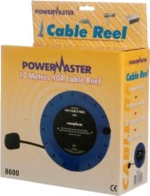 Powermaster 2 Gang Cable Reel 10 Meter