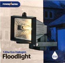 Powermaster 120W Halogen Floodlight