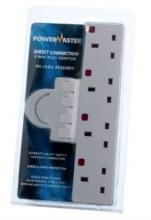 Powermaster 4 Gang Surge Adaptor