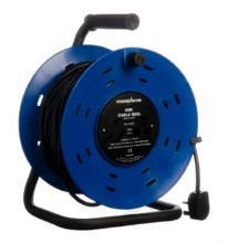 Powermaster 4 Gang Cable Reel 50 Meter