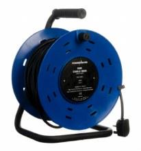Powermaster 4 Gang Cable Reel 50 Meter