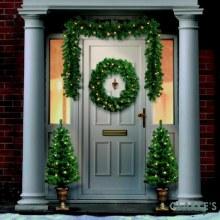 Premier LED Christmas 4 Piece Door Set