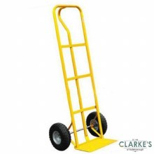 Premier Sack Truck with Midle Handle Yellow