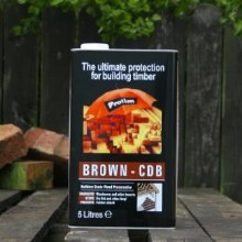 Protim Brown CDB Solution in Organic Solvent 5 Litre