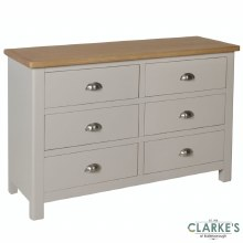 Purdi Painted 3+3 Drawer Chest
