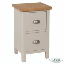 Purdi Painted Small Bedside Locker