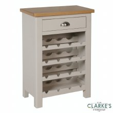 Purdi Painted Wine Cabinet