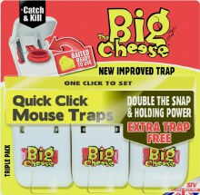Big Cheese Mouse Trap 3 Pack